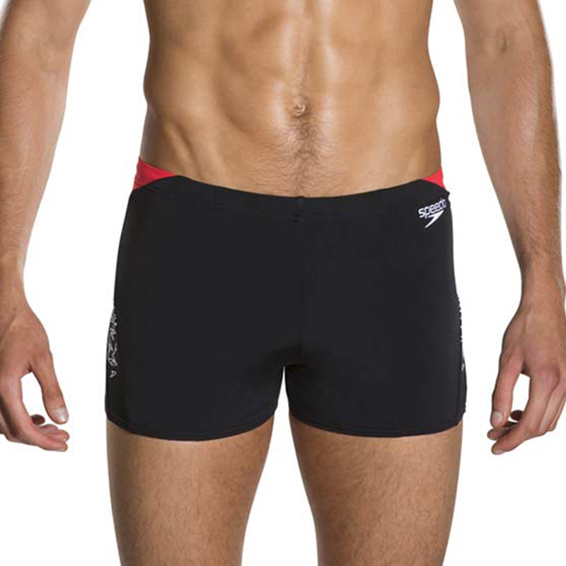 Speedo-Boom-Splice-Aquashort-Rood-1