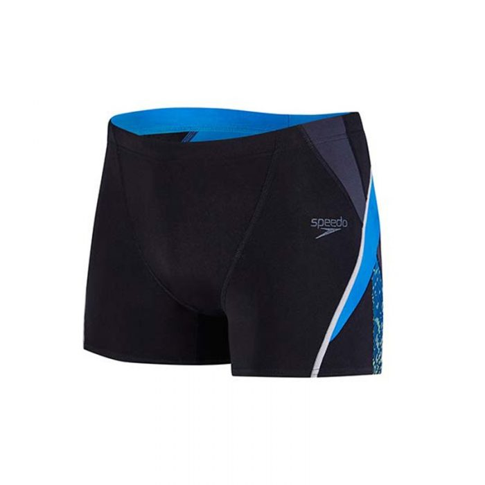 Speedo Fit Splice Aquashort Blauw